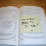 Random acts of kindness notes in books